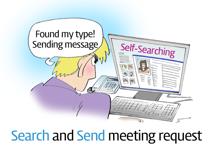 Search and Send meeting request